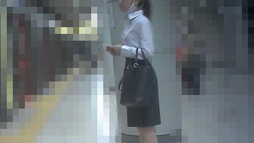 痴漢記録日記vol.47【1人目:シャツOL】