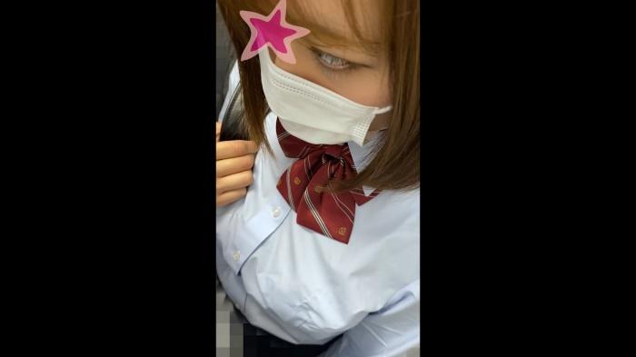 【電射男012】巨乳の制服美少女にバイブ挿入!揺れる乳房がエロすぎてヤバイです…画像つき詳細レビュー