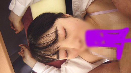 (マッサージ痴漢・睡眠姦)清楚な見た目なのにマン毛ボーボー 野性味あふれる剛毛マンコにチンコ挿入