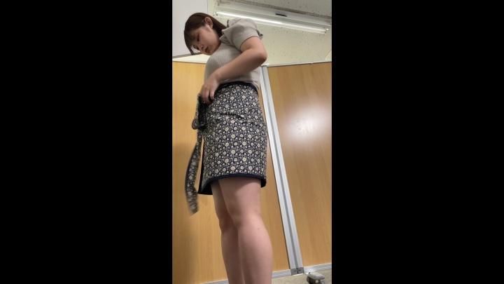 [4K]【検診センター】盗撮記録 その2 爆乳の美少女画像つき詳細レビュー